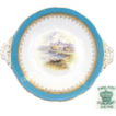 Antique Coalport 10&quot; Cake or Pie Dish, Windsor Castle Scene