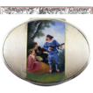 Viennese Enamel on Sterling Silver Box, Casket or Snuff