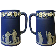 SALE Fine 1900s Wedgwood Jasperware Syrup Pitcher