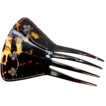Elegant Antique Victorian Faux Tortoise Shell Ornamental Hair Comb, Tiara, Mantilla, 19th C. Tortoiseshell