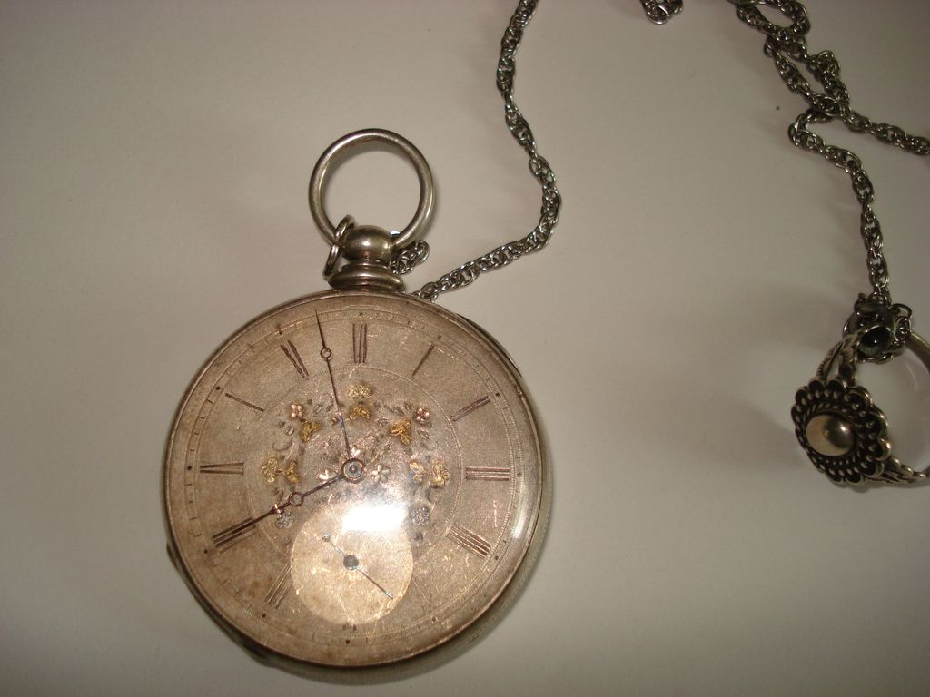 ... 18> Images For - Antique Pocket Watch With Roman Numerals