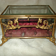 French Ormolu Napoleonic Box