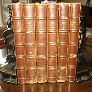 SALE Antiquarian  French Series The Count of Monte Cristo by Dumas