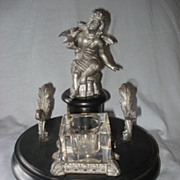 SALE French Cupid Inkwell