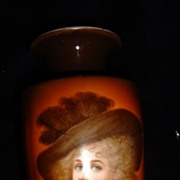SALE Vintage German Porcelain  Vase Duchess Of Devonshire 1920