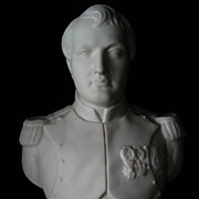SALE Parian Bust of Napoleon Robinson and Leadbeater