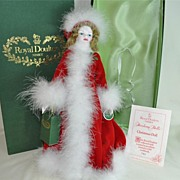 SALE Royal Doulton Peggy Nisbet Christmas Doll