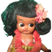 Adorable Vintage Google Eyed Hawaiian Doll