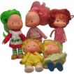 Five 1979 American Greetings Corp.Strawberry Shortcake Dolls