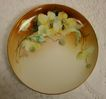 Limoges Haviland Plate Yellow Poppies Signed by Artist L. Blet