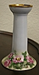 Austria D&F Handpainted Porcelain Candle Holder Roses