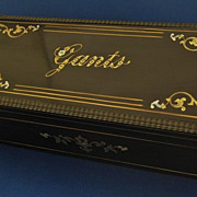 SALE PENDING MAGNIFICENT French GLOVE Box Inlaid Wood & Mother of Pearl