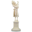 LARGE Dieppe Carved Ivory Figure, 19th c. French RARE