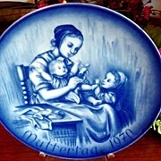 Jahre Bareuther Bavarian Porcelain Collectors 1970 Mother's Day Plate