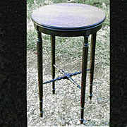 Walnut Parlor Side Table Ferner Stand 20th Century