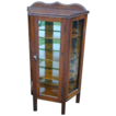 Miniature China Cabinet Oak Grain Painted Early 1900 Vintage Original