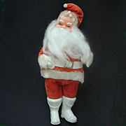 Vintage Santa Claus Figure 11 Inch 1950s
