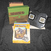 Sawyer's View Master 1940s Bakelite Stereoviewer Original Box