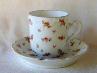 Antique Rosenthal Hand Painted Porcelain Small Tea Cup or Demitasse