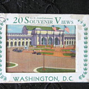 Mid Century Post Card Ephemera Collection of Washington D.C.