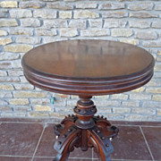 Victorian American Pedestal Table