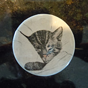 1940's Pinback Chessie insignea Button Badge