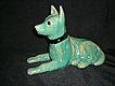 Cliftwood Art Pottery Dog