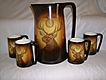Warwick BPOE Elk Tankard and 4 Mugs