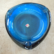 Viking Cobalt Blue Ashtray