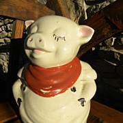 Shawnee Smiley the Pig Cookie Jar