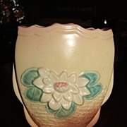 Hull Art Pottery Vase Water Lily Hull Art L6 6 ��  Matte Glaze