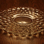 Fostoria Glass American 13.5� Torte Serving Platter Tray Free Shipping