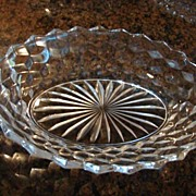 Fostoria Glass American 9 �� Oval Vegetable Bowl Free Shipping