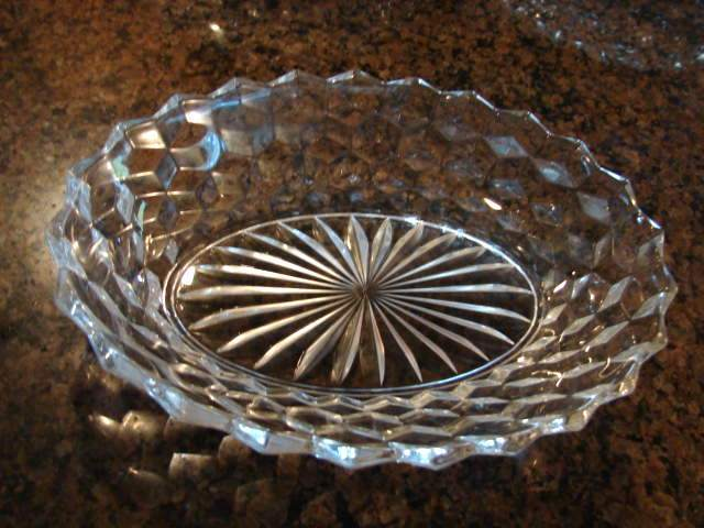 Fostoria Glass American 9 &frac14;&quot; Oval Vegetable Bowl Free Shipping