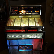 REDUCED Rare Classic 1963 Wurlitzer Jukebox Model 2700 Multi Selector Stereo Phonograph Profes
