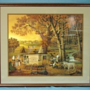 SALE Charles Wysocki Limited Edition Print 1989 The Memory Maker Custom Framed 420/2500  19th