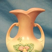 SALE Hull Art Pottery USA Wildflower Matte Vase W-8 1946-47