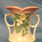 Hull Art Pottery Wildflower Vase Matte USA W-6-7 �� American Art Pottery