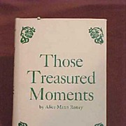 SALE Poem1st Edition Book of Poems Southwest Those Treasured Moments  Author Alice Mann Roney