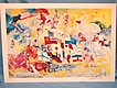 Leroy Neiman Art Hand Signed Print Montreal Olympics 1976
