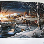 Terry Redlin &quot;Almost Home&quot; Limited Edition Fine Art Print