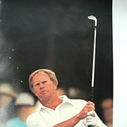 "Golf Sports Arts Limited Edition Print Jack Nicklaus, �The Master's Touch"",  Daniel M. Sm"