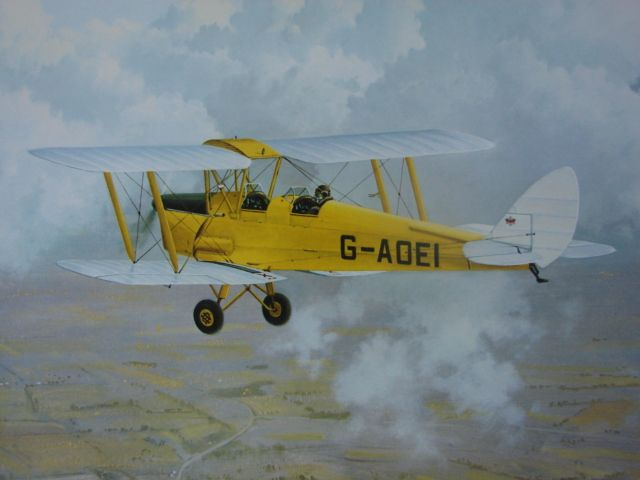 "WWII Limited Edition Aviation Print Gerald Coulson ""A Special Breed"""
