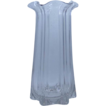 McKee Pillar Mold 12&quot; Glass Vase Pressed Glass ca. 1900