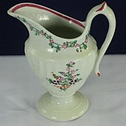 New Hall Creamer Milk Jug Porcelain  c. 1790s England