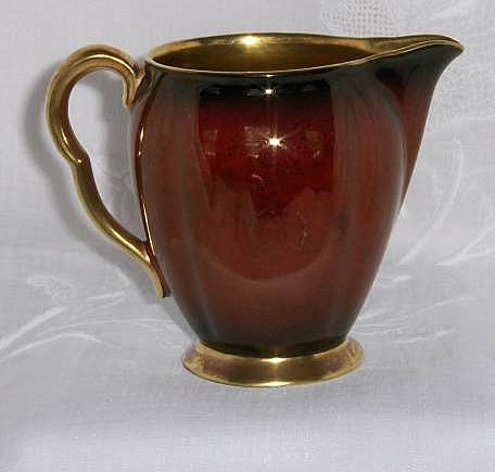 Carlton Ware Rouge Royale Creamer 3 1/2&quot; England