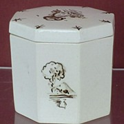SALE Wedgwood Alfred Powell Lustre Luster Hand Painted Queen's Ware Box ca. 1916