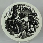 SALE PENDING Wedgwood  Clare Leighton SUGARING Plate 10 �� Queens Ware  New England Industries