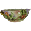 Haviland Limoges Large Fruit Bowl Hand Painted Cherries Marseilles Blank Signed Ca. 1900