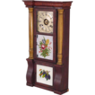 Triple Tablet Column Clock, Seth Thomas